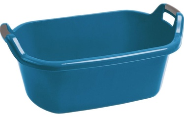 Curver Oval Bowl With Handles 55L Blue