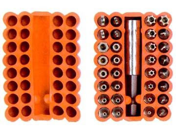 Kruvikeeraja otsikute komplekt Vagner SDH 201002, 33 tk