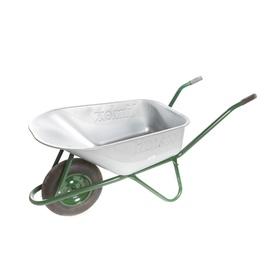 Limex Wheelbarrow Steel/Green 100l