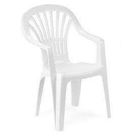 Садовый стул Progarden Zena, белый, 55x56x89 см
