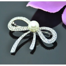 Vincento Brooch With Zirconium Crystal LD-1122