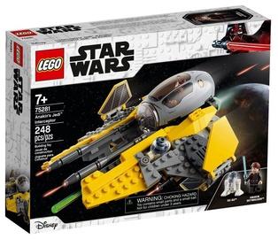 Konstruktor LEGO®Star Wars TM 75281 Anakini Jedi™ Interceptor