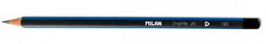 Milan Triangular Graphite Pencil 2B 071230412