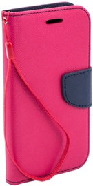 Telone Fancy Diary Bookstand Case For LG K8 Pink/Blue