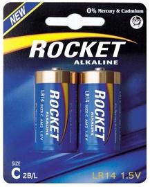 Rocket LR14-2BB C Batteries 2x