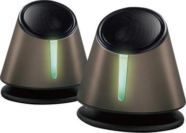 Omega OG118 2.0 Desktop Speakers Grey