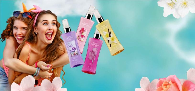 Body Fantasies Signature Kissing in the Rain Fragrance Body Spray 94ml
