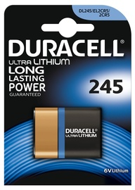 Duracell Ultra Lithium DL245/ EL2CR5/ 2CR5 Battery