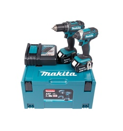 Makita DLX2127MJ Cordless Tool Kit 2x4.0Ah