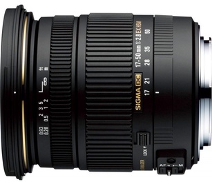 Sigma AF 17-50mm f/2.8 DC OS HSM for Canon