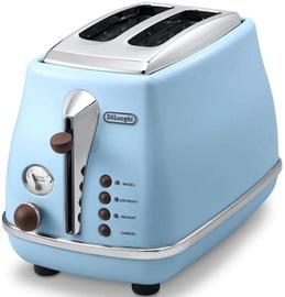Delonghi Toaster Icona Vintage CTOV 2103 Blue