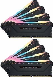 Corsair Vengeance RGB Pro Black Series 64GB 2666MHz CL16 DDR4 KIT OF 8 CMW64GX4M8A2666C16