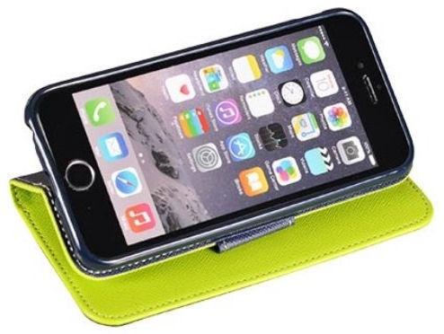 Mocco Fancy Book Case For Xiaomi Redmi S2 Green/Blue