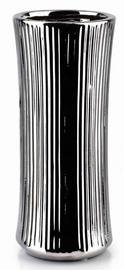 Mondex Yvonne Vase Silver 24.5cm