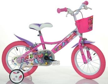 "Laste jalgratas Bimbo Bike Butterfly 14"" Pink"