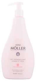 Anne Möller Clean Up Face And Eyes Make Up Remover Milk 400ml