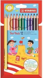 Stabilo Trio Thick Pencils 12pcs