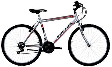"Jalgratas Frejus UOMO MTB Silver/Red, 24"""