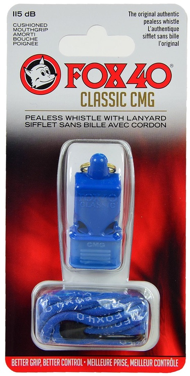 Fox 40 Safety Classic CMG Whistle with Lanyard 9603-0508