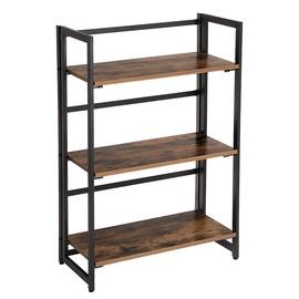 Songmics Bookshelf Brown/Black 60x93cm