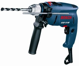 Lööktrell Bosch GSB 13 RE Professional 600W + tarvikud
