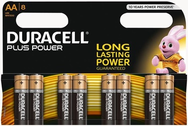 Duracell Plus Power AA Alkaline Battery 8pcs