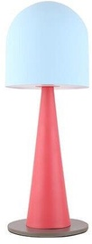 Candellux Visby Table Lamp 40W E27 Blue /Red
