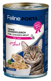 Feline Porta 21 Cat Wet Food w/ Chicken 400g