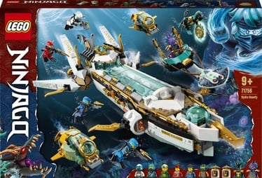 Konstruktor LEGO Ninjago Hydro Bounty 71756, 1159 tk