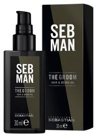 Sebastian Professional Seb Man The Groom Hair & Beard Oil 30ml