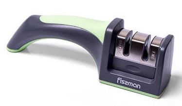 Fissman Two Step Knife Sharpener 19x5x6cm Green
