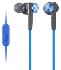 Sony XB50AP EXTRA BASS In-Ear Headphones Blue