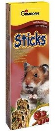 Gimborn Sticks For Rodents With Vegetables 2pcs