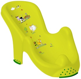 Vanniiste Keeeper Anatomic Baby Bath Chair Funny Farm Green Meadow