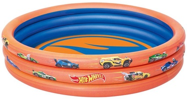 Bestway Hot Wheels 3-Ring Paddling Pool 93403