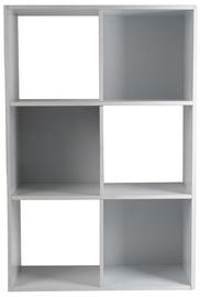 Riiul 4Living White 60x30x90cm