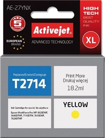 ActiveJet Cartridge AE-27YNX For Epson 18ml Yellow