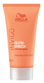 Juuksemask Wella Invigo Nutri Enrich Deep Nourishing, 30 ml