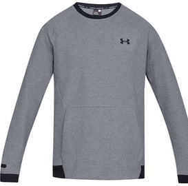Under Armour Unstoppable Double Knit Crew Jumper 1329712-035 Grey XL