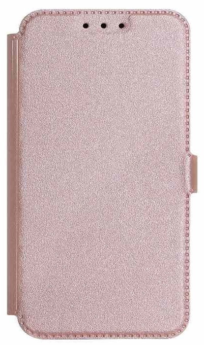 Mocco Shine Book Case For Huawei Y5/Y5 Prime 2018 Rose Gold