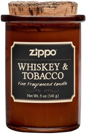 Lõhnaküünal Zippo Spirit Candle Whiskey And Tobacco, 35 h