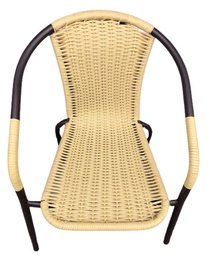 TOOL AIA BISTRO NATURAL RATTAN 57X52X75