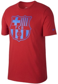 Nike T-Shirt FC Barcelona Crest 832717-687 Red L
