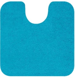 Spirella Highland Toilet Rug Light Blue