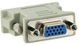 4World Adapter DVI-I To VGA