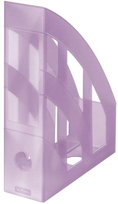 Herlitz Vertical Document Tray Pastel Violet