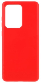 Evelatus Soft Touch Back Case For Samsung Galaxy S20 Ultra Red
