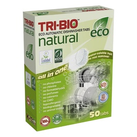 Nõudepesumasina tabletid Tri-Bio, 50tk