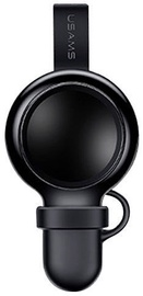 Usams Safety Magnetic/Wireless Charger 1.5W For Apple Watches Black