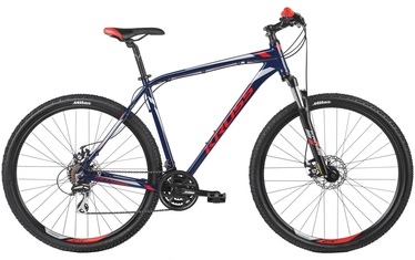 "Kross Hexagon 4.0 XL 29"" Blue Red Silver Glossy 19"
